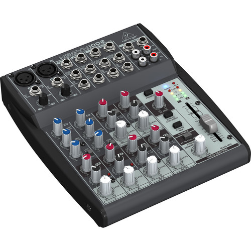 Behringer XENYX 1002 - 10 Channel Audio Mixer