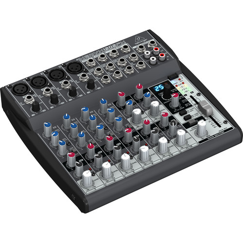 Behringer XENYX 1202FX 12-Channel Audio Mixer with Multi-FX Processor
