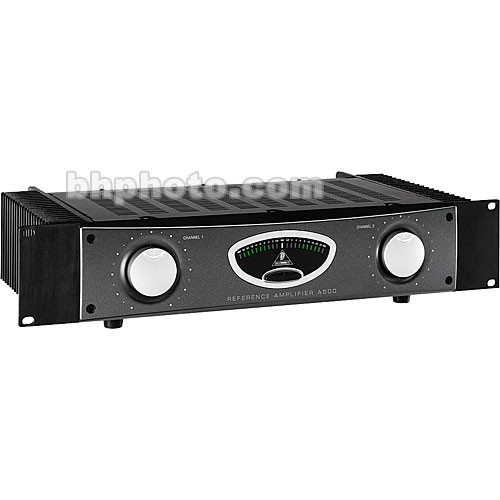 Behringer A500 - 2-Channel Rackmount Studio Power Amplifier