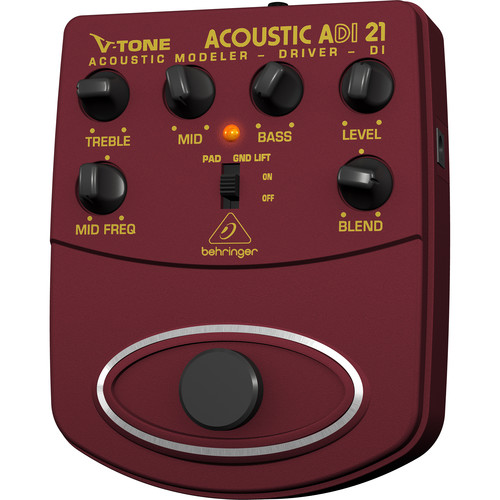 Good EQ pedal for a live acoustic PA setup - The Acoustic