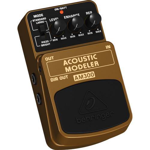 behringer acoustic modeler am300 guitar effects pedal am300. Black Bedroom Furniture Sets. Home Design Ideas