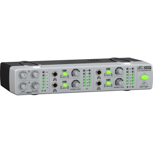 Behringer AMP800 - MINIAMP Compact 4-Channel Headphone Amplifier