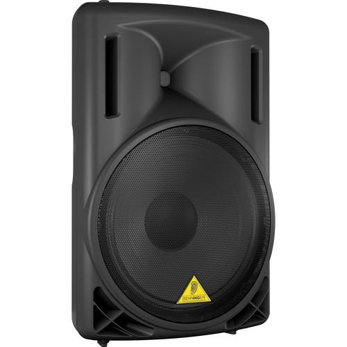 Behringer B215D 2-Way Active Loud Speaker (Black)