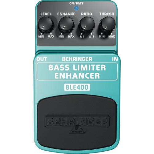 behringer ble400 bass limiter enhancer effects pedal ble400 b h. Black Bedroom Furniture Sets. Home Design Ideas