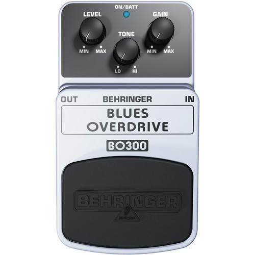 Behringer BO300 Blues Overdrive Effects Pedal