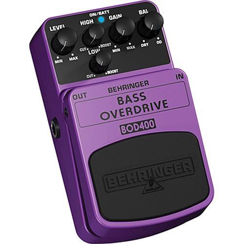 Behringer BOD400 Bass Overdrive Stompbox Effect Pedal