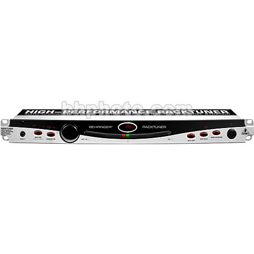 Behringer BTR2000 - RACKTUNER  Auto Chromatic Tuner