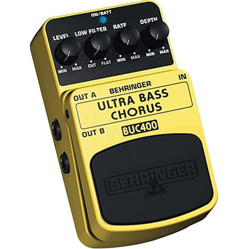 Behringer BUC400 Ultimate Bass - Chorus Stompbox Effect Pedal
