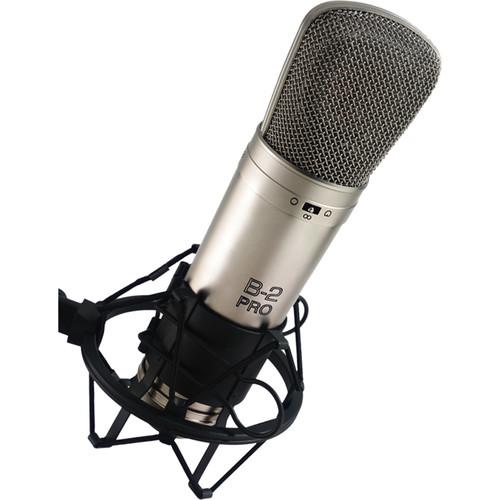 Behringer B-2 Pro Large Diaphragm Multi-Pattern Studio Condenser Microphone
