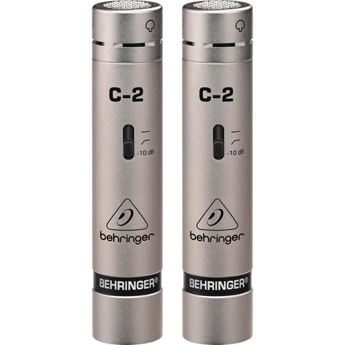 Behringer C-2 Matched Studio Condenser Microphones