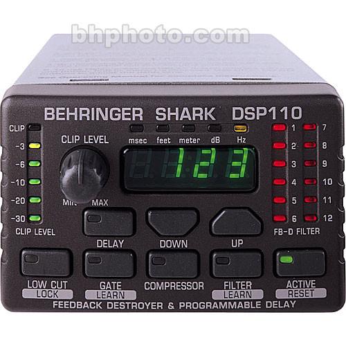 Behringer SHARK DSP110 - Signal Processor