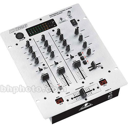 Behringer DX-626 Professional 3 Channel DJ Mixer