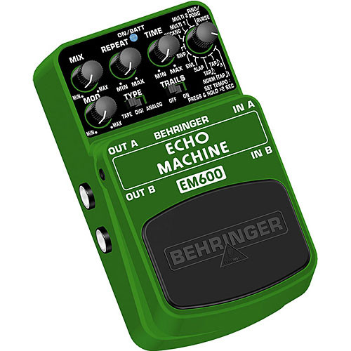 Behringer EM600 Ultimate Echo Modeling Effects Pedal