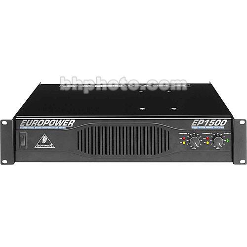 Behringer EP1500 - 2-Channel Rackmount Power Amplifier