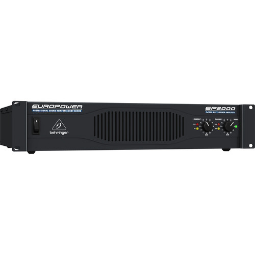 Behringer Europower EP2000 Professional Stereo Power Amplifier (400W/Channel @ 8 Ohms)