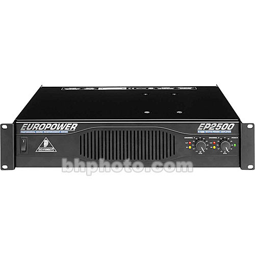 Behringer EP2500 - 2-Channel Rackmount Power Amplifier