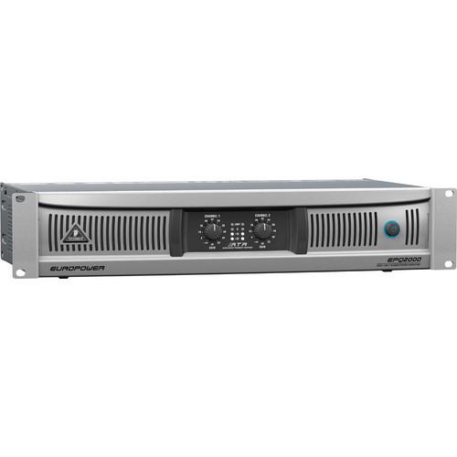 Behringer EuroPower EPQ2000 Stereo Power Amplifier (600W/Channel @ 8 Ohms)