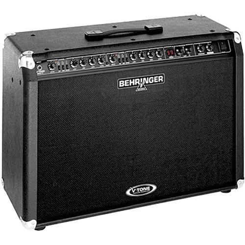 """Behringer GMX212 True Analog Modeling 120W Guitar Amp with (2) 12"""" Speakers"""