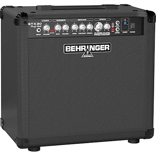 behringer gtx30 30 watt guitar amplifier gtx30 b h photo video. Black Bedroom Furniture Sets. Home Design Ideas