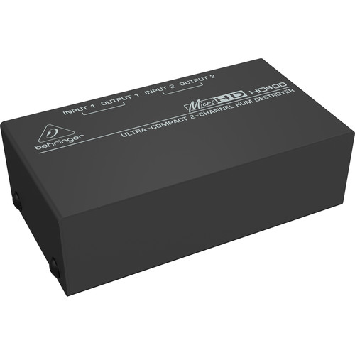 Behringer MicroHD HD400 Hum Eliminator