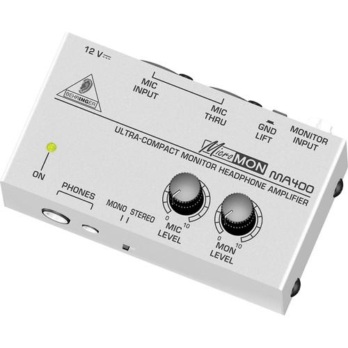 Behringer MA400 - MICROMON Miniature Monitor Headphone Amplifier