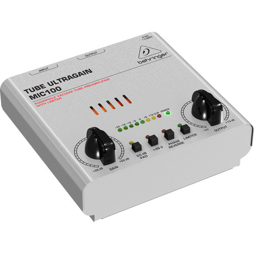 Behringer MIC100 ULTRAGAIN PRO - Single Channel Tube Mic Pre
