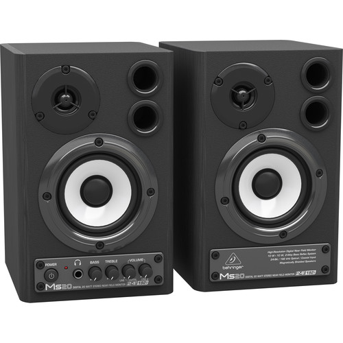 Behringer MS-20 - 20 Watt Digital Stereo Nearfield Monitors - Pair