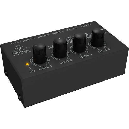 Behringer MX-400 MicroMix - Four-Channel Line Mixer