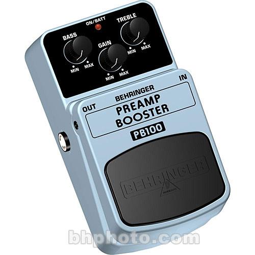 Behringer PB100 Preamp Booster