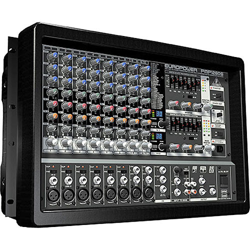 behringer pmp1280s 10 channel audio mixer pmp1280s b h photo. Black Bedroom Furniture Sets. Home Design Ideas