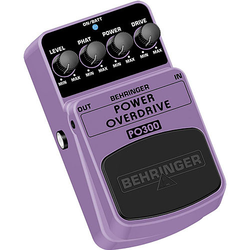Behringer PO300 - Overdrive Effects Pedal