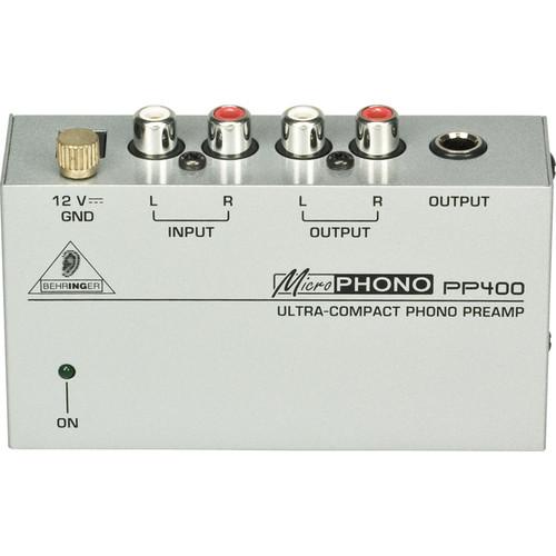 Behringer PP400 Phono Preamplifier
