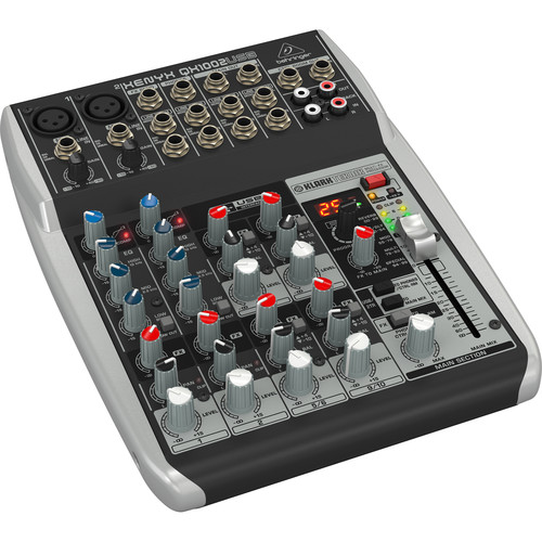 Behringer XENYX QX1002USB 10-Channel USB Mixer with Multi-FX Processor