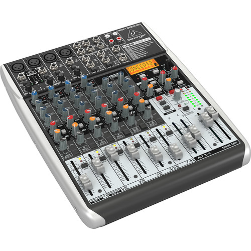 Behringer XENYX QX1204USB 12-Channel USB Mixer with Multi-FX Processor