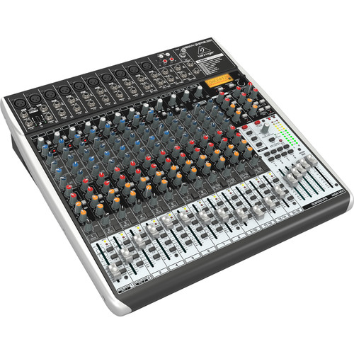 Behringer XENYX QX2442USB 24-Channel USB Mixer with Multi-FX Processor