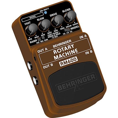Behringer RM600 - Rotary Speaker Modeling Effects Pedal
