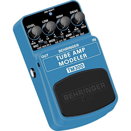 Behringer TM300 - Tube Amp Modeling Effects Pedal