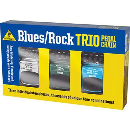 behringer tpk987 blues rock trio pedal pack guitar tpk987 b h. Black Bedroom Furniture Sets. Home Design Ideas