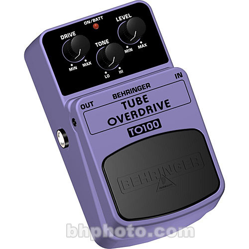 Behringer TO100 Tube Overdrive Pedal