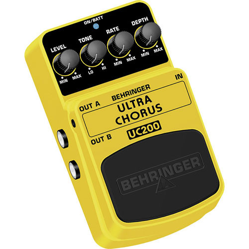 Behringer UC200 Ultra Chorus Guitar Effect Pedal