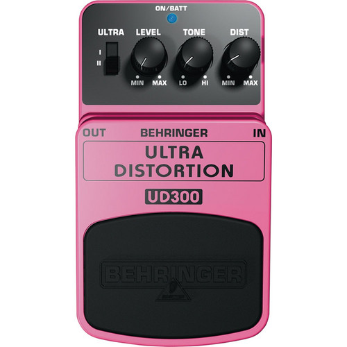 Behringer UD300 Ultra Distortion Effects Pedal