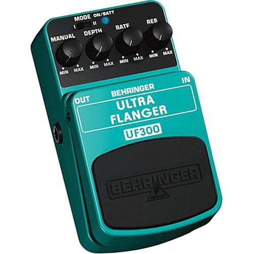 Behringer UF300 -  2-Mode Flanger Foot Pedal for Electric Guitar and Bass