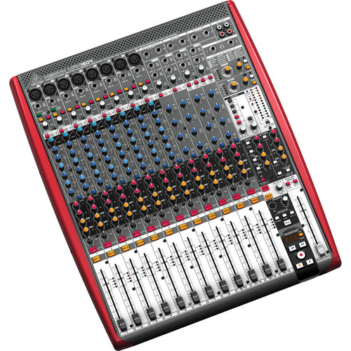 Behringer XENYX UFX1604 16-Input 4-Bus Mixer with 16x4 USB/FireWire Interface