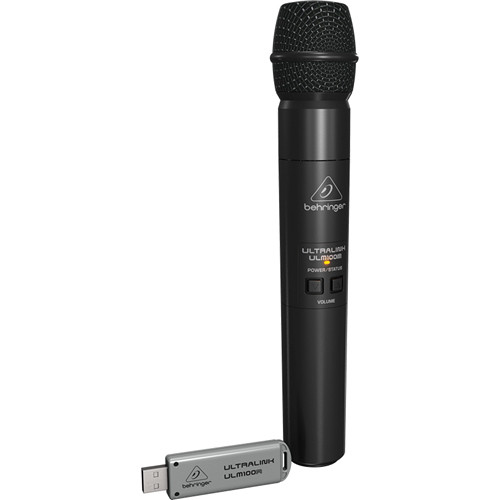 Behringer ULTRALINK ULM100USB High-Performance 2.4 GHz Digital Wireless Microphone System