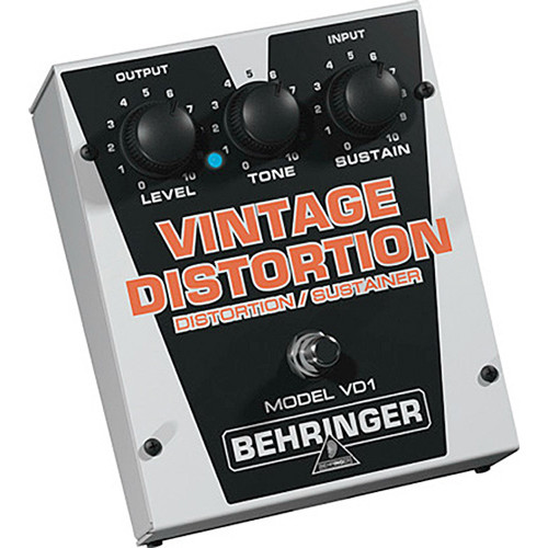 Behringer VD1 Vintage Distortion Pedal
