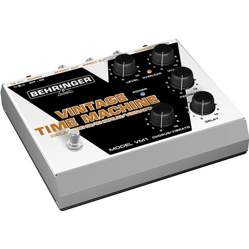 Behringer VINTAGE TIME MACHINE VM1 - Analog Delay/Echo/Chorus/Vibrato Pedal