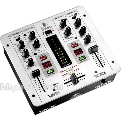 Behringer VMX100 - Two Channel DJ Mixer