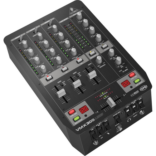 Behringer VMX300USB - Three Channel DJ Mixer