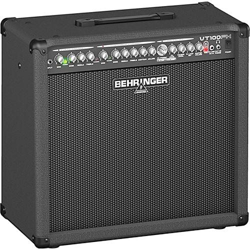 "Behringer VT100FX 2-Channel 100 Watt Guitar Amplifier with DSP Effects and 12"" Speaker"