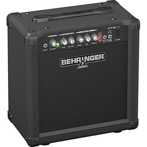 "Behringer Virtube VT15CD 2-Channel Guitar Amplifier with CD Input & 8"" Speaker (15W)"